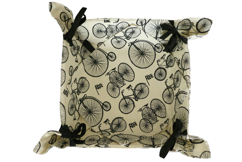 Belle Textiles Le Tour Bicycle Bread Basket