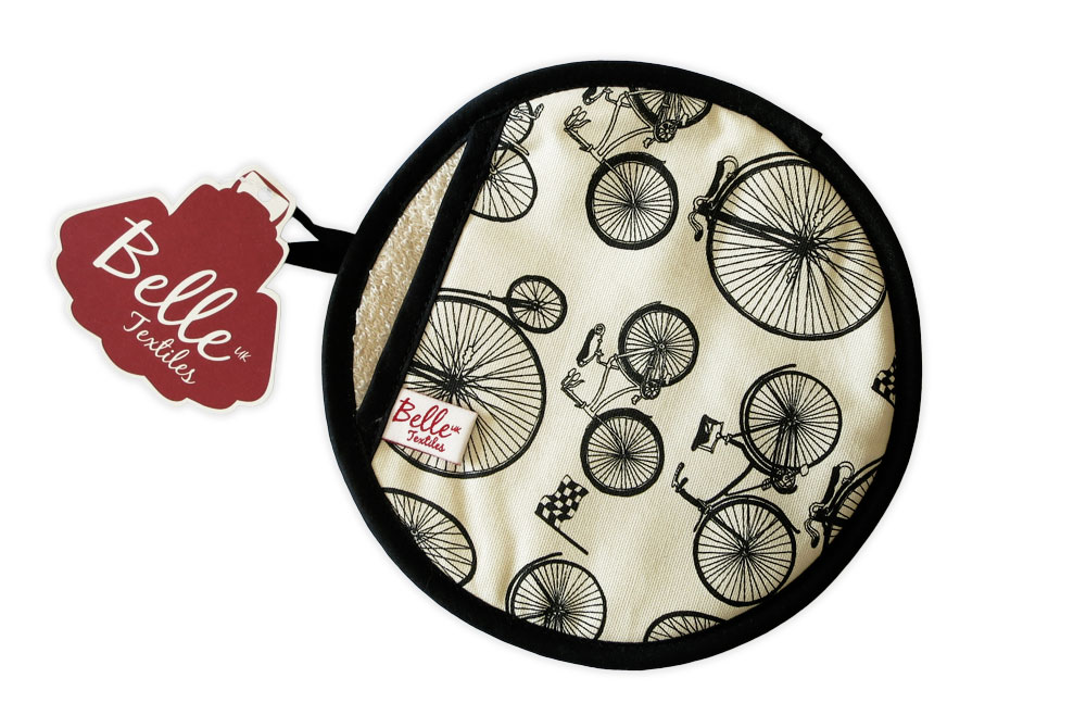 Belle Textiles Le Tour Bicycle Pot Holder