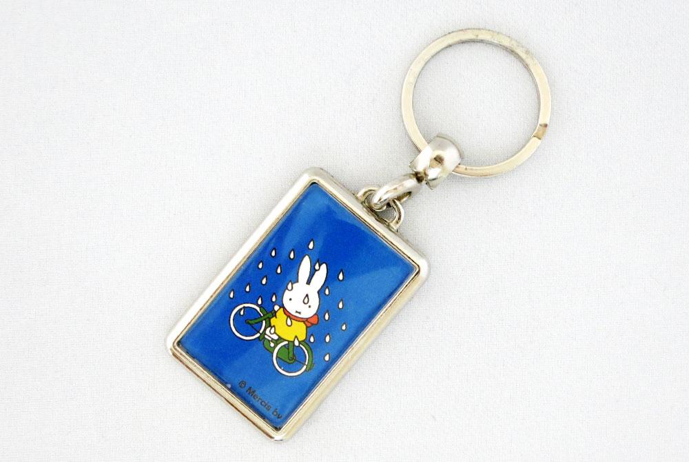 Miffy Bicycle Keyring