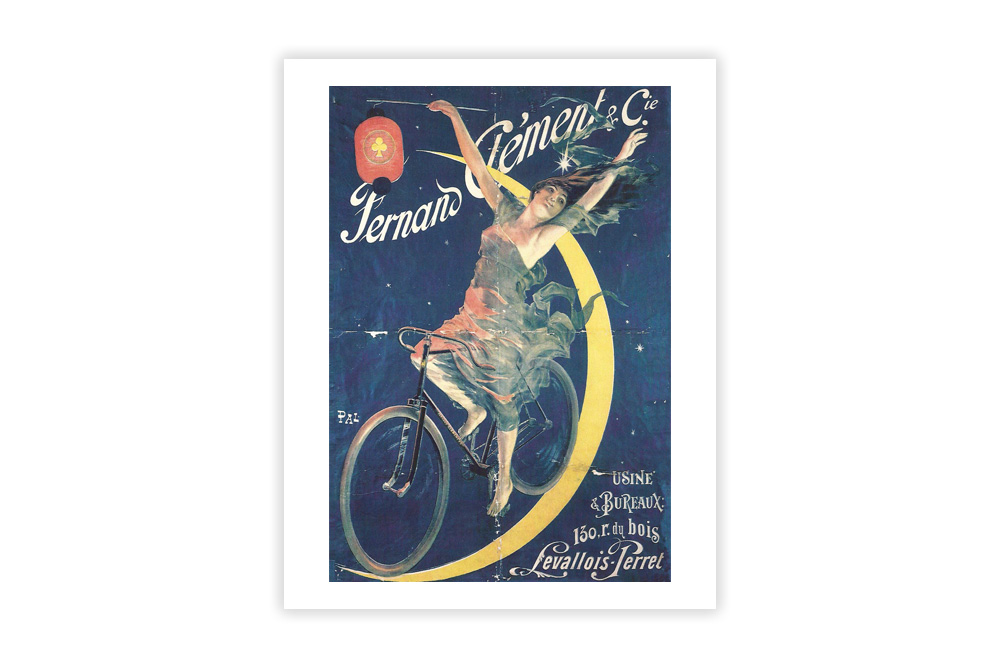 Fernand Clement Vintage Cycling Print