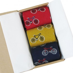 Men's Bicycles in a Box Socks Gift Box 2