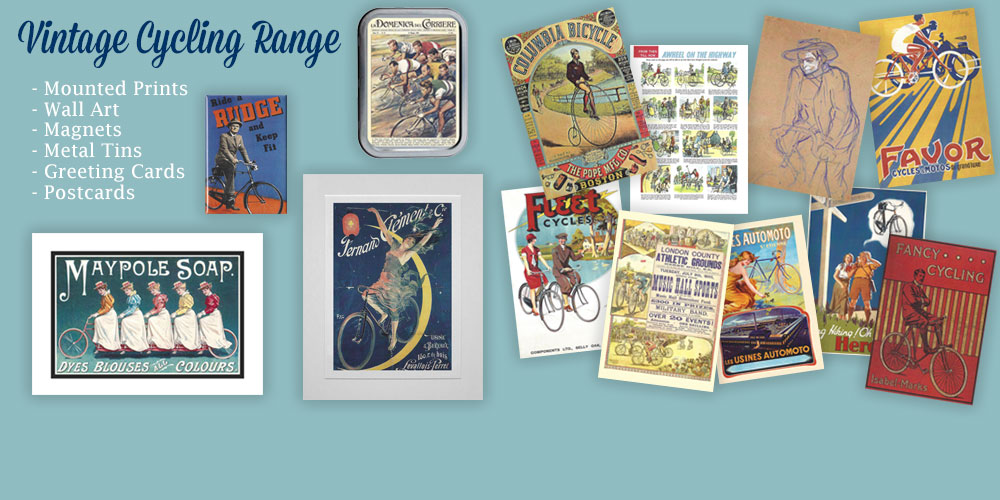 Vintage Cycling Range from Star Editions