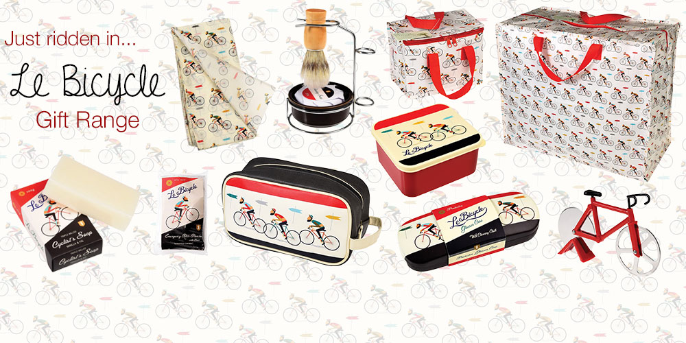 Le Bicycle Gift Range