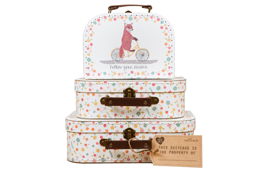 Happy Animals Set of Three Bicycle Cases