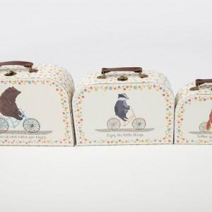 Happy Animals Set of Three Bicycle Cases