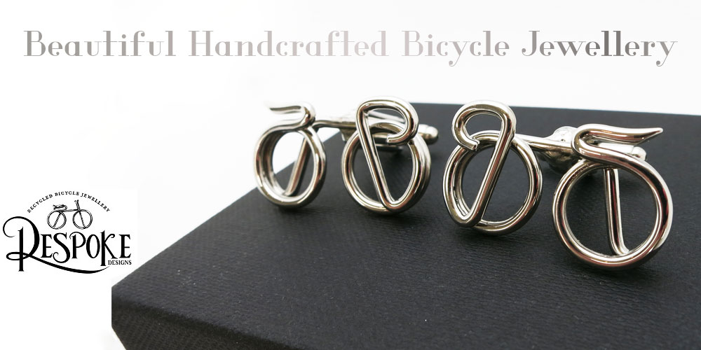 Beautiful Handcrafted Bicycle Jewellery