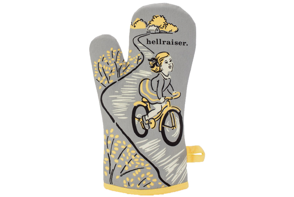 Blue Q Hellraiser Bicycle Oven Glove