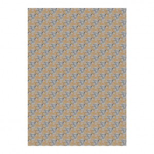 Copper & Black Racing Bicycles Wrapping Paper Roll