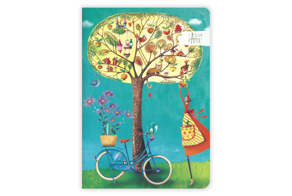 Tree of Life Bicycle Notebook