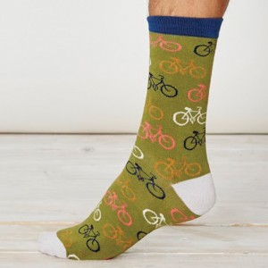 Men's Bamboo Bicycle Socks – Olive