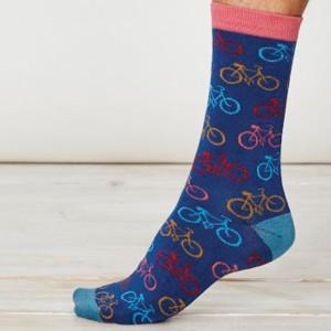 Men's Bamboo Bicycle Socks – Royal Blue