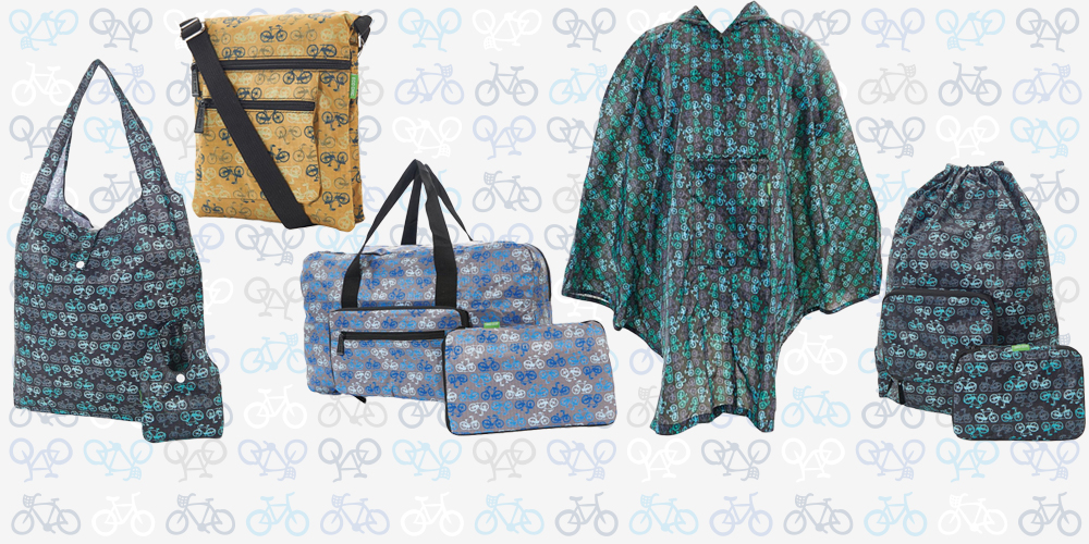 Eco Chic - New Lightweight, Waterproof and Stylish Bags, Ponchos and Umbrellas