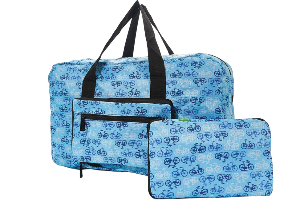 Blue Foldable Vintage Bicycle Holdall