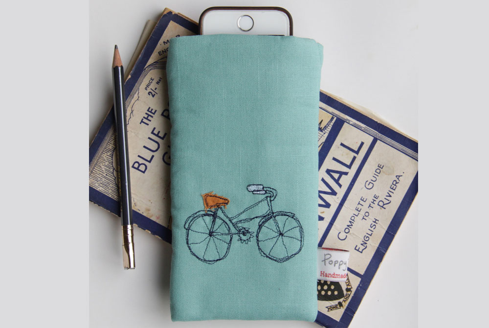 Poppy Treffry Bicycle Phone Case