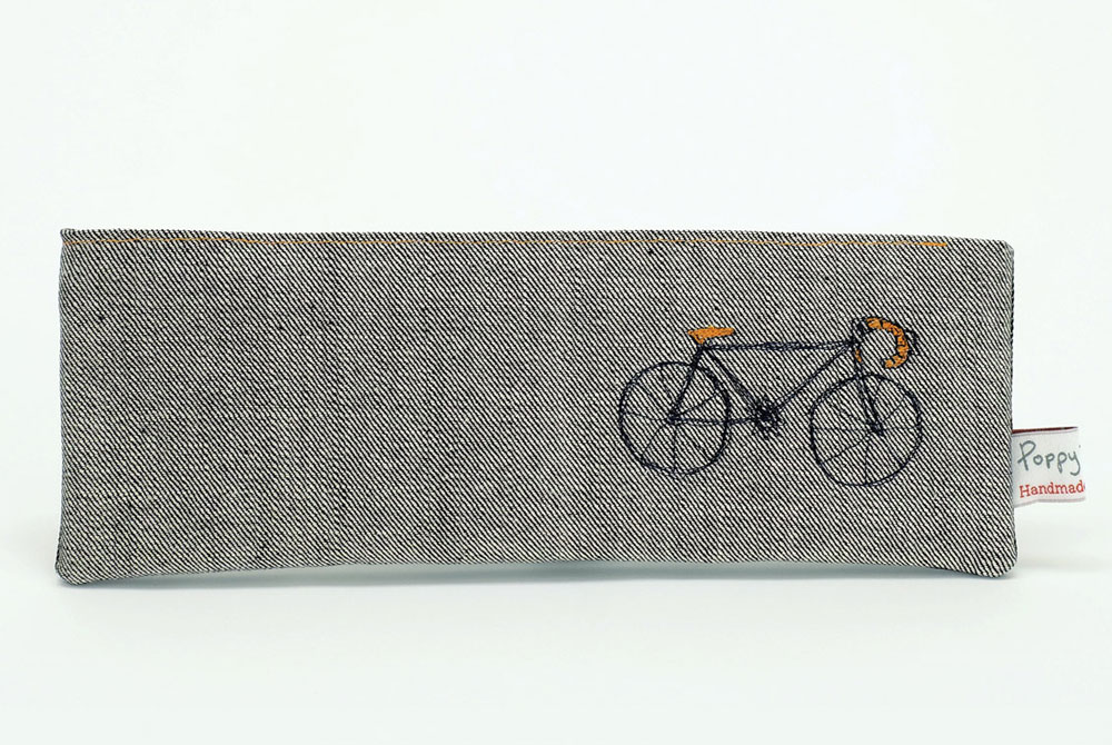 Poppy Treffry Racing Bicycle Pencil Case