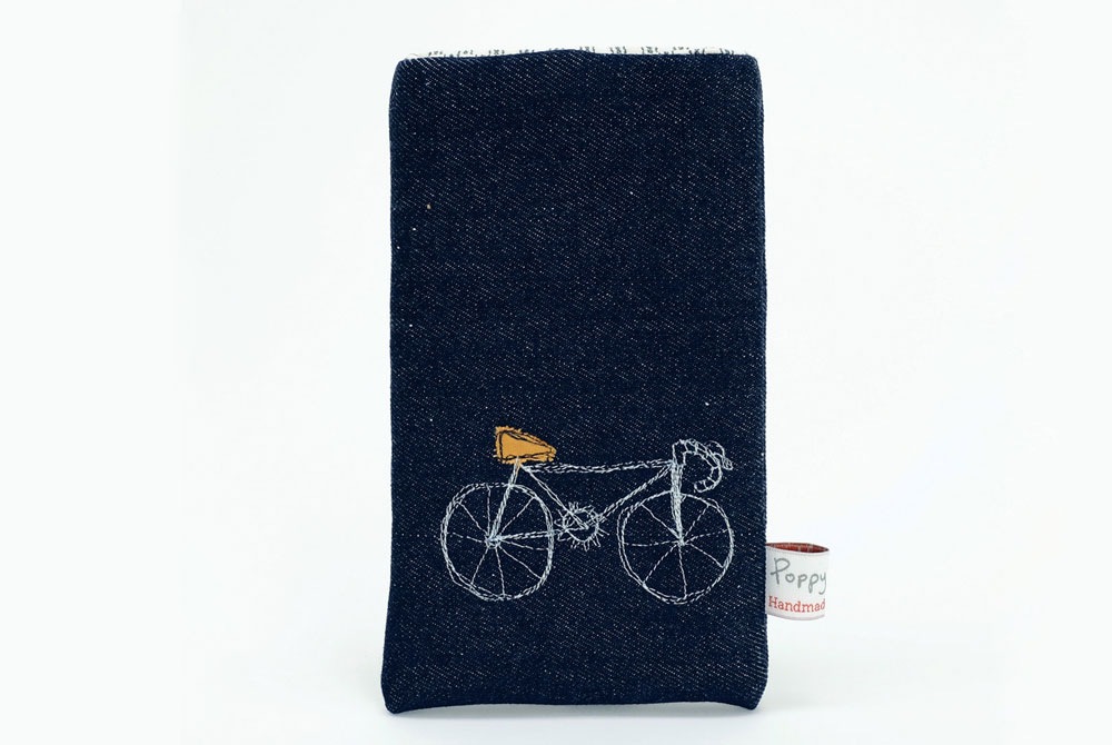 Poppy Treffry Racing Bicycle Phone Case