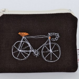 Poppy Treffry Racing Bicycle Coin Pouch