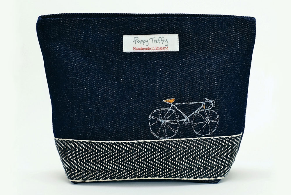 Poppy Treffry Racing Bicycle Wash Bag