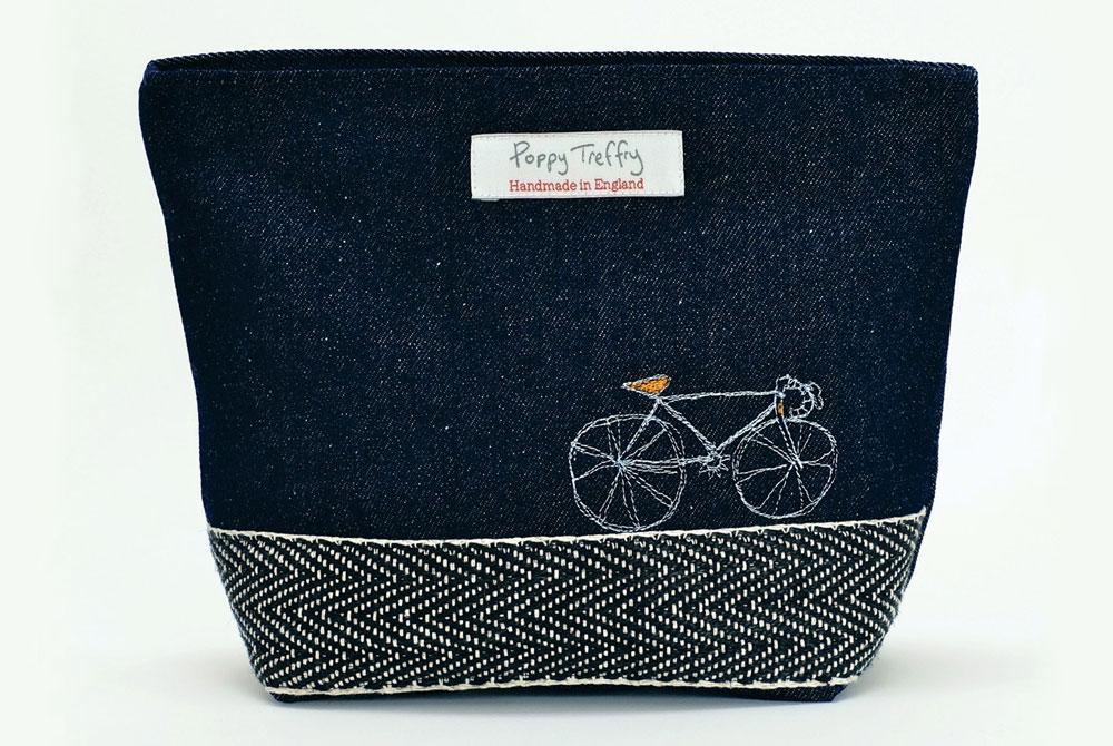 Poppy Treffry Racing Bicycle Wash Bag