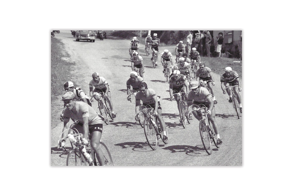 Cycle Race 1946 Bicycle Greeting Card