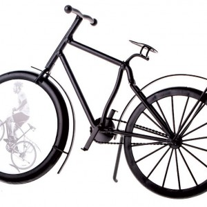 Metal Bicycle Photo Frame