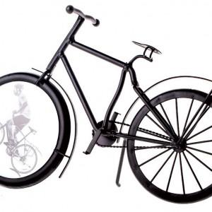 Metal Bicycle Photo Frame