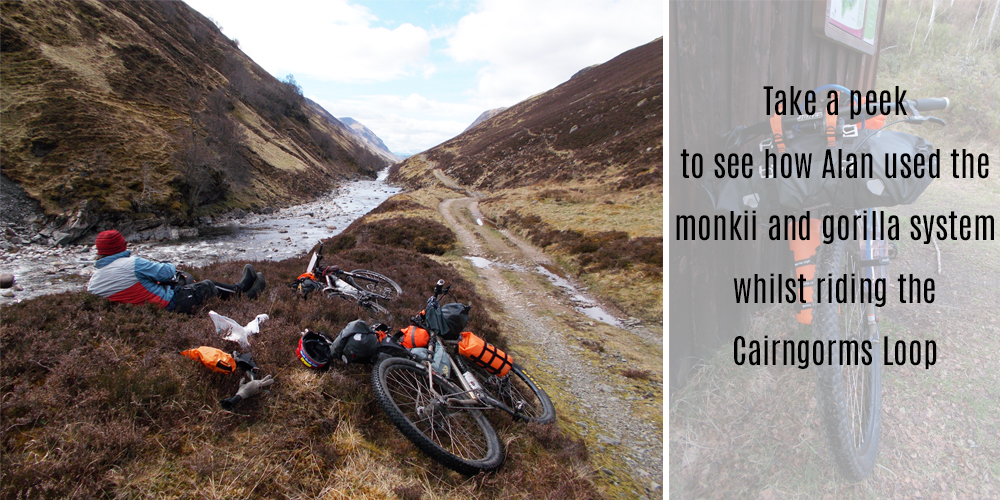 Bike Packing the Cairngorms Loop and JOGLE