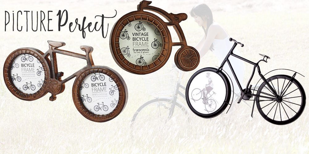 Picture Perfect Bicycle Photo Frames