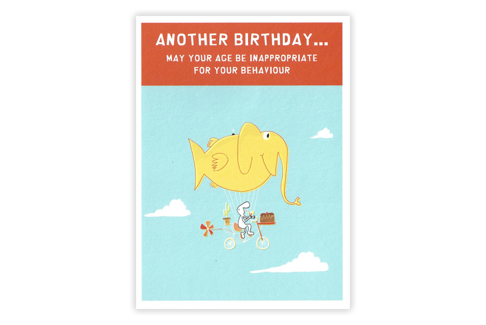 Another Bicycle Birthday Card