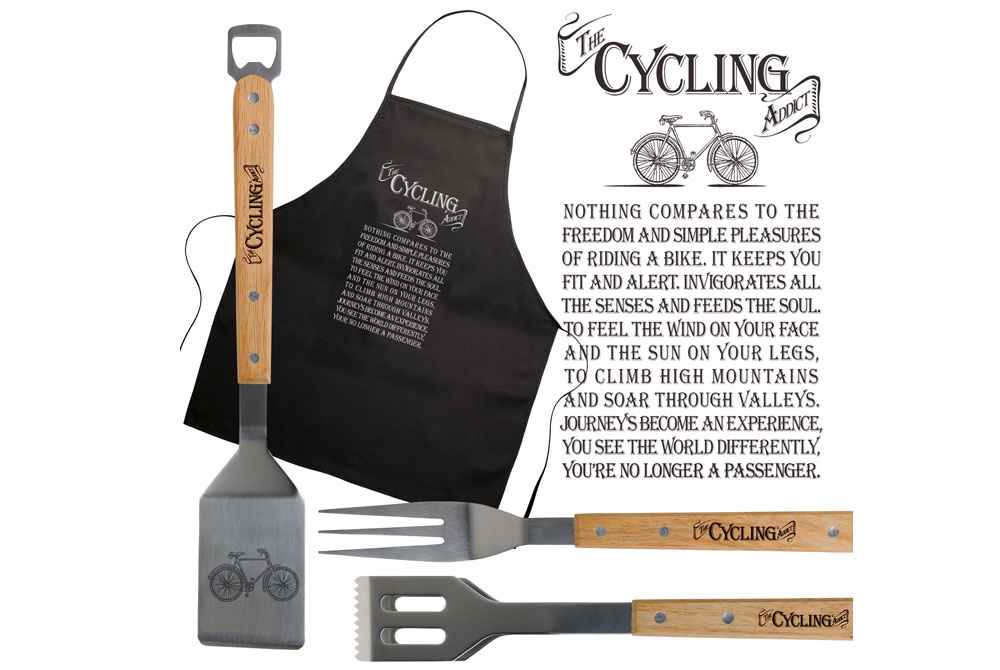 The Cycling Addict Bicycle BBQ Tool Set