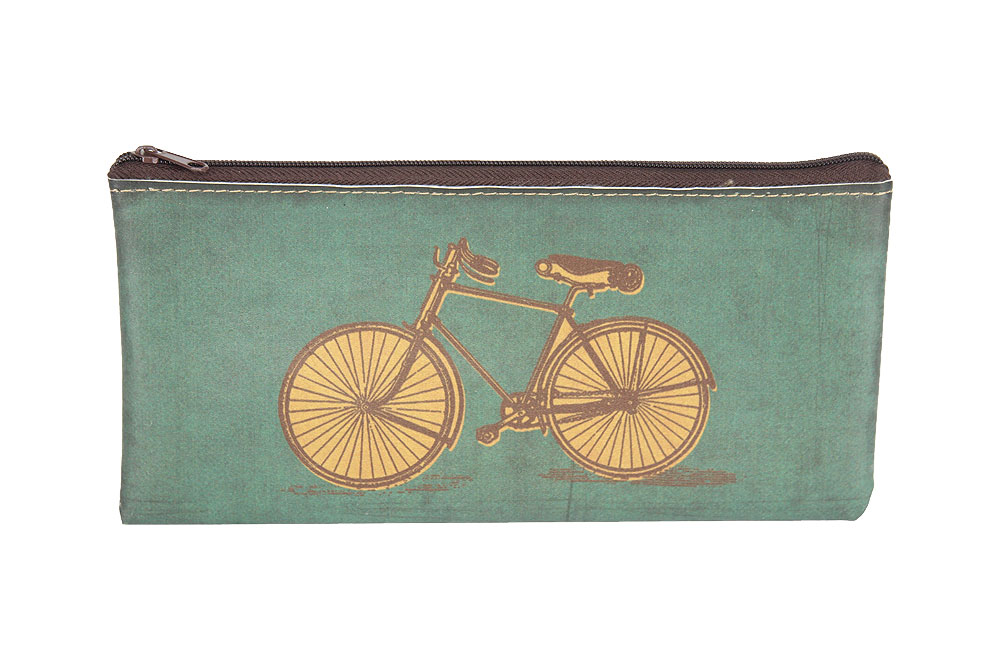 Vintage Bicycle Pencil Case