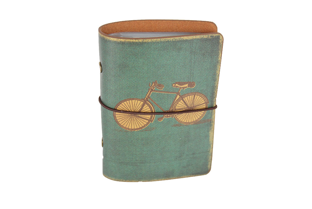 Vintage Bicycle Card Case