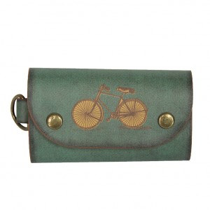 Vintage Bicycle Key Case