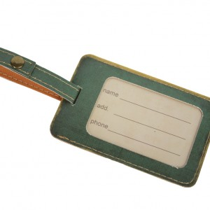 Vintage Bicycle Luggage Tag