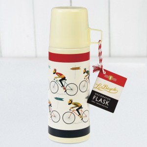 Le Bicycle Flask and Cup