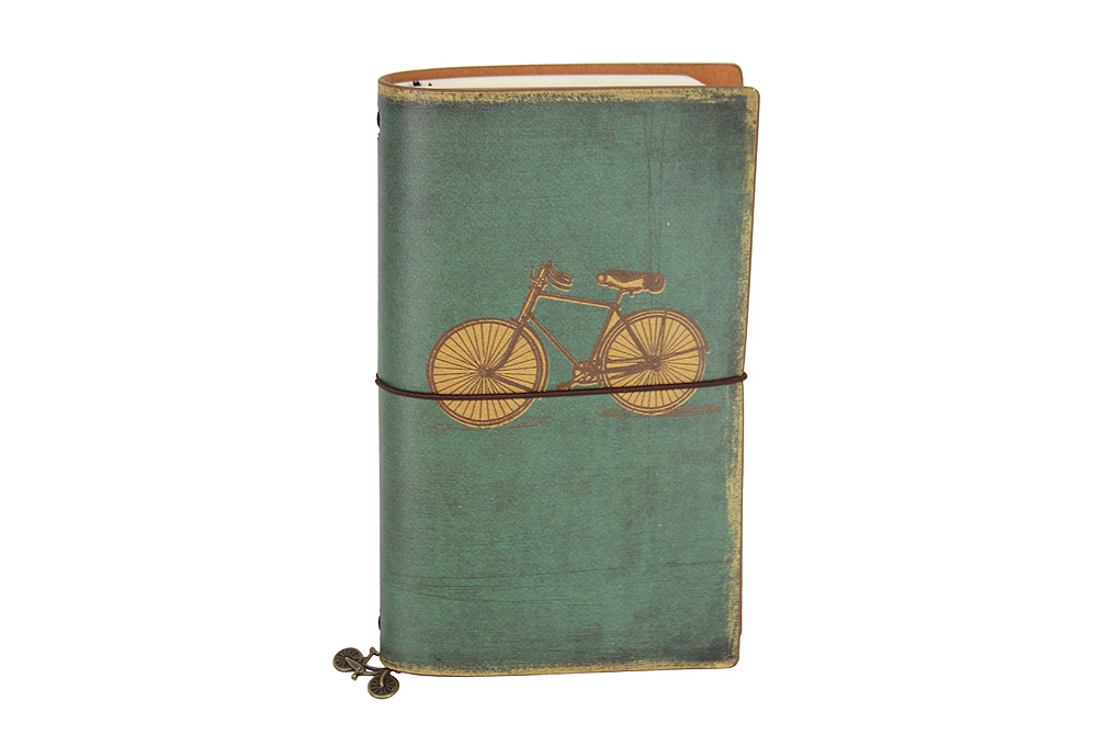 Vintage Bicycle Notebook