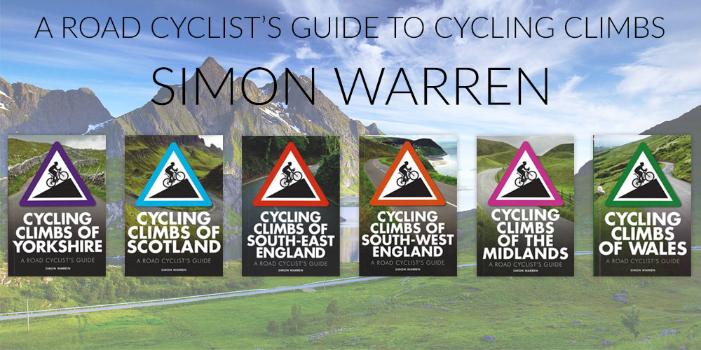 Cycling Climbs by Simon Warren