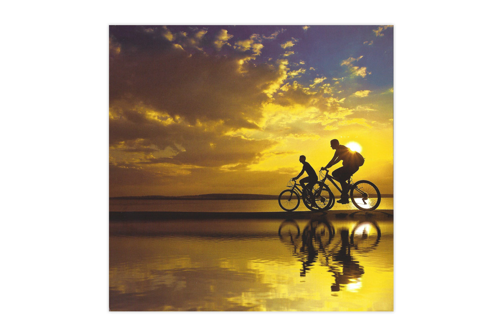 Beautiful Day Bicycle Birthday Card