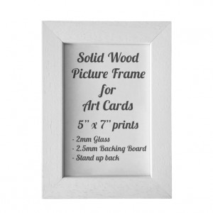White Picture Frame for 5