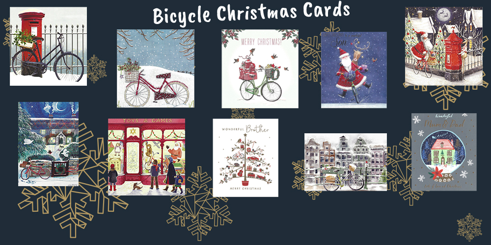 Lots and Lots of Bicycle Christmas Cards