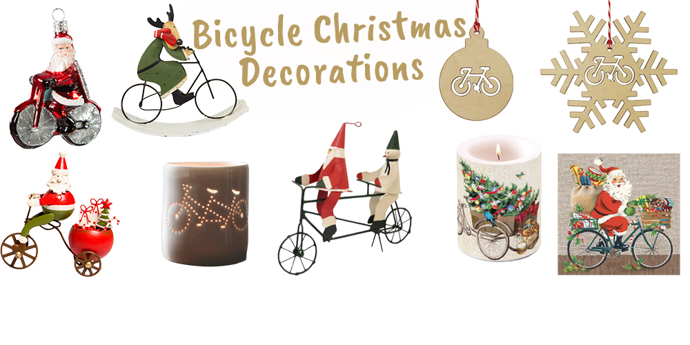 Bicycle Christmas Decorations