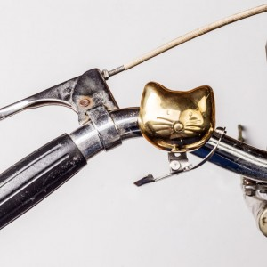 Cat Brass Bicycle Bell