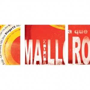 Maillot Rojo Cycling Print by Gareth Llewhellin