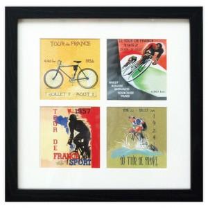 Framed Vintage Tour de France Print