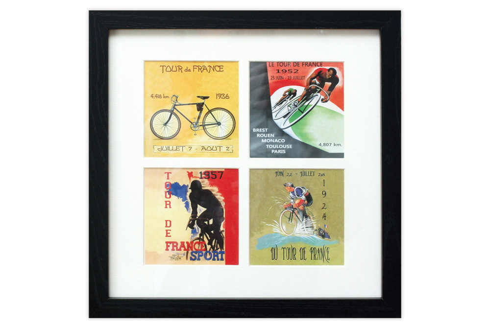 Framed Vintage Tour de France Print