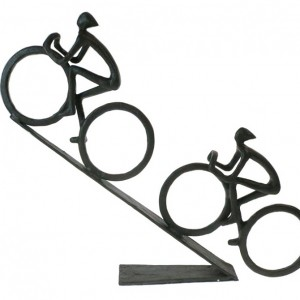 Hill Climb Racing Cyclists Bicycle Sculpture