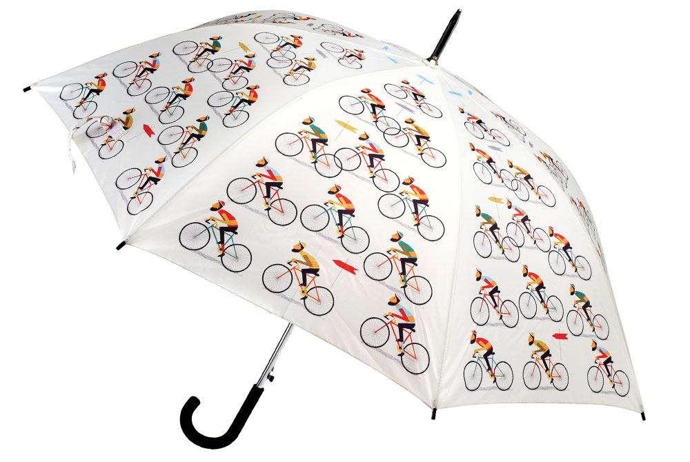 Le Bicycle Pattern Umbrella