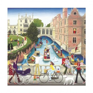 Cambridge Bicycle Greeting Card