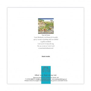 Tour de France Bicycle Greeting Card