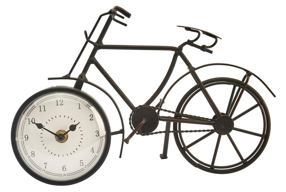 Metal Vintage Bicycle Clock
